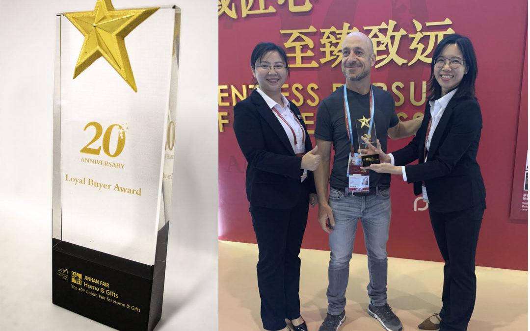 "Direkshinz receives the ""Loyalty Buyer Award"" 2019"